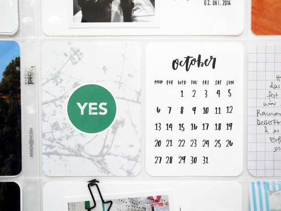 Create Share Love | ProjectLife September5c