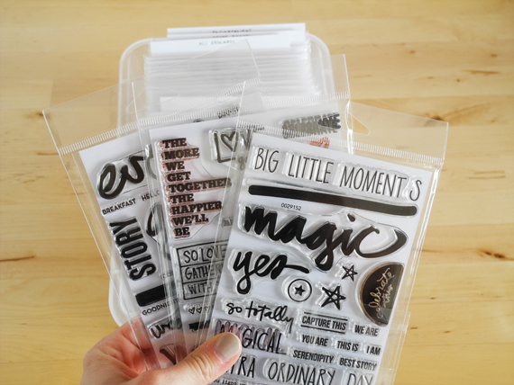 Create Share Love | Organize Your Clear Stamps 11
