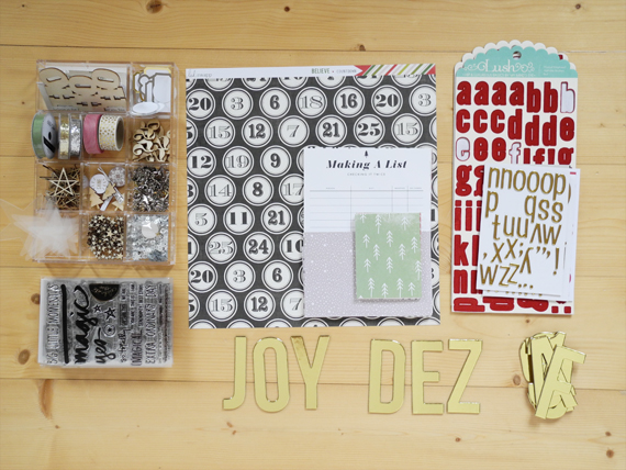 Create Share Love | December Daily Kit from my Stash 5