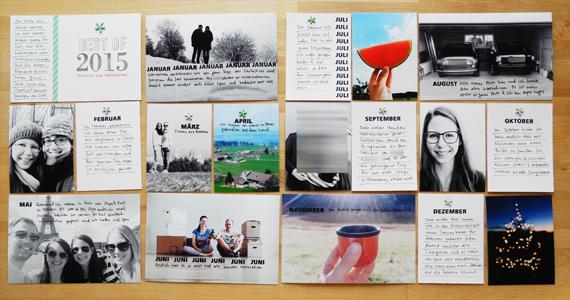 Create Share Love | Papierprojekt Moment Stempel Best Of... Project Life Spread 3