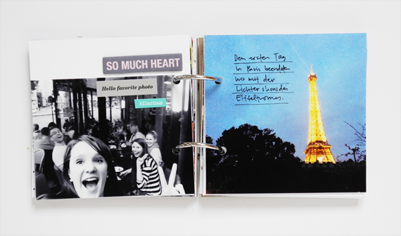 Create Share Love | Minialbum Paris 10