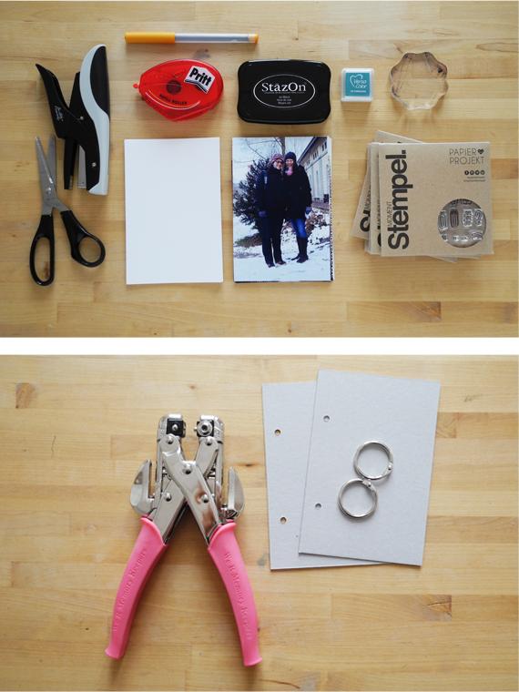 Create Share Love | PAPIERPROJEKT Moment-Stempel Minialbum Zurich 2