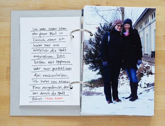 Create Share Love | PAPIERPROJEKT Moment-Stempel Minialbum Zurich 4