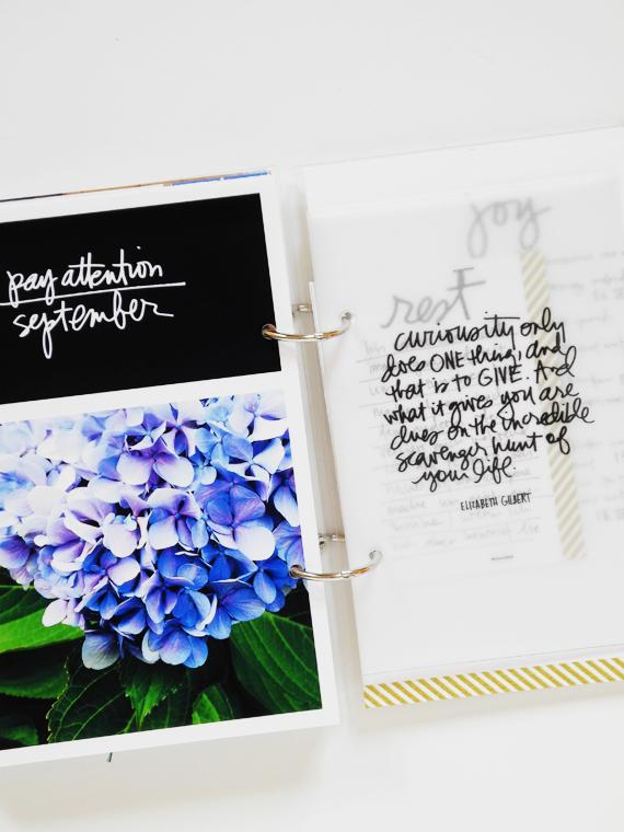 Create Share Love | One Little Word 2016 LIGHT September