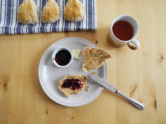 Create Share Love | Buttermilk Scones #ayearbetweenfriends_1