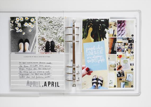 Create Share Love   Personal Project Life® Album 2017_April1