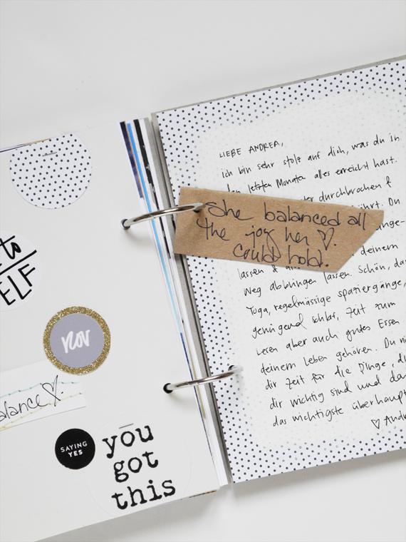 Create Share Love | One Little Word® 2017 Balance November