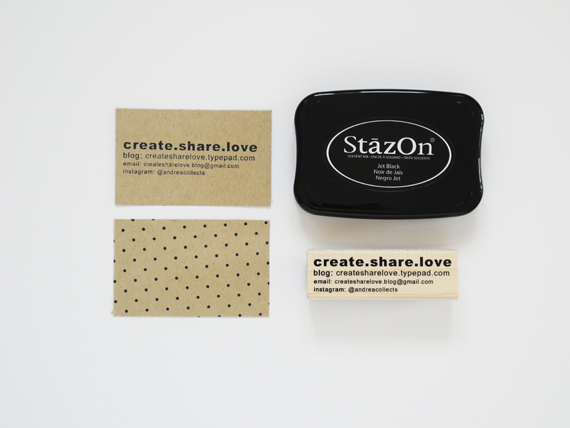 Create Share Love | Business Cards 8