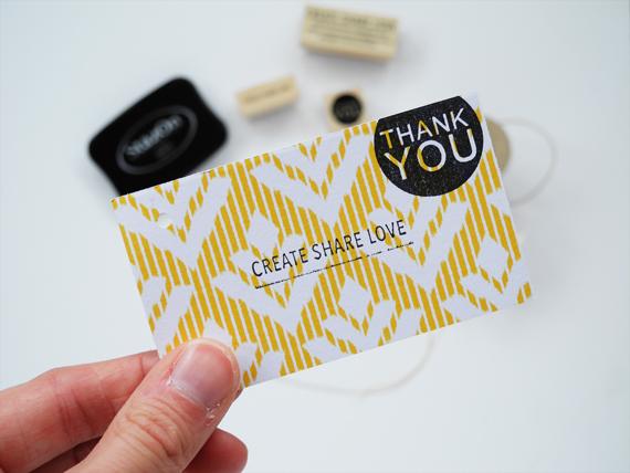 Create Share Love | Striped Scarf 5