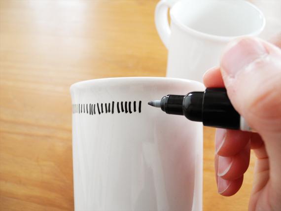 Create Share Love | Painted mug 3