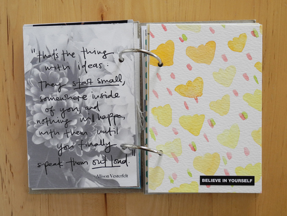 Create Share Love | Details MiniBook Update 8