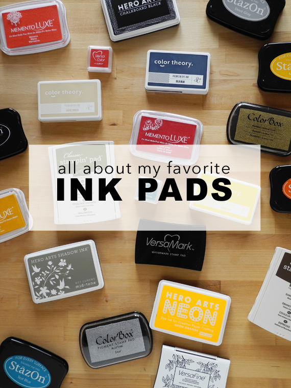 Create Share Love | All About Ink Pads