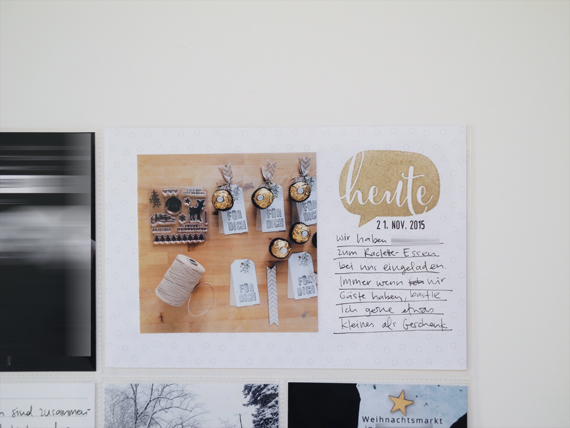 Create Share Love | ProjectLife 2015 November 7