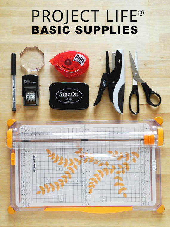 Create Share Love | ProjectLife® Basic Supplies