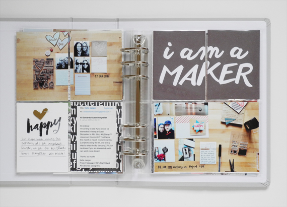 Create Share Love | ProjectMYLife 2016 January 7