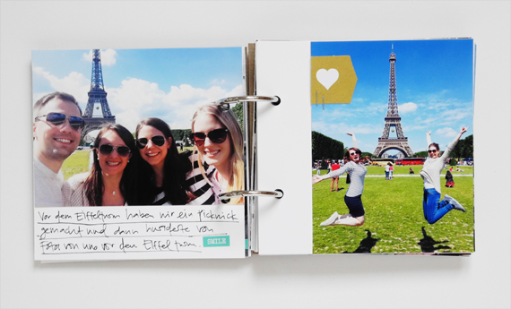 Create Share Love | Minialbum Paris 5