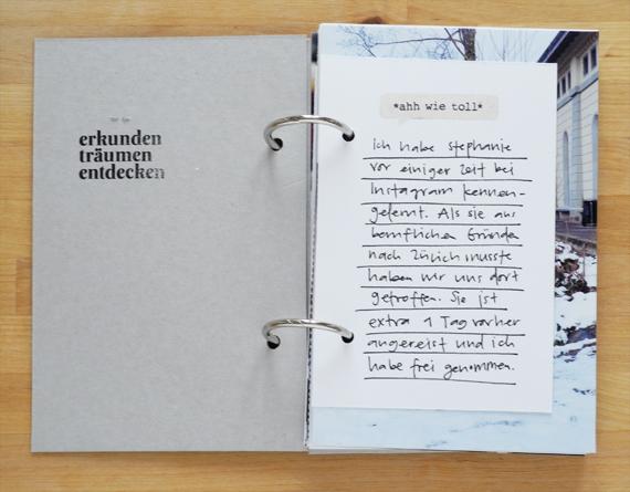 Create Share Love | PAPIERPROJEKT Moment-Stempel Minialbum Zurich 3