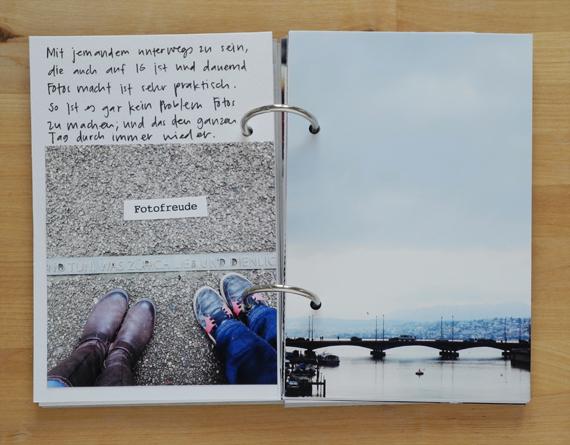 Create Share Love | PAPIERPROJEKT Moment-Stempel Minialbum Zurich 6