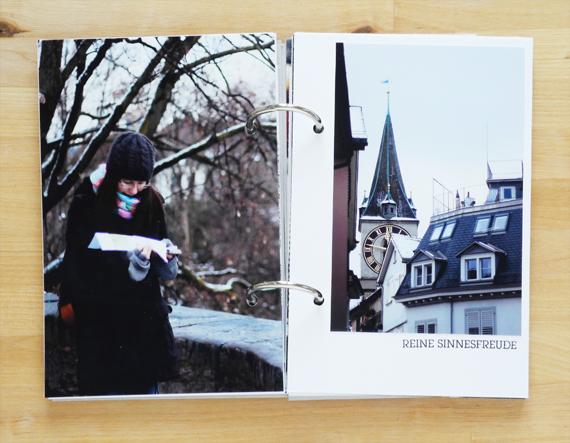 Create Share Love | PAPIERPROJEKT Moment-Stempel Minialbum Zurich 7