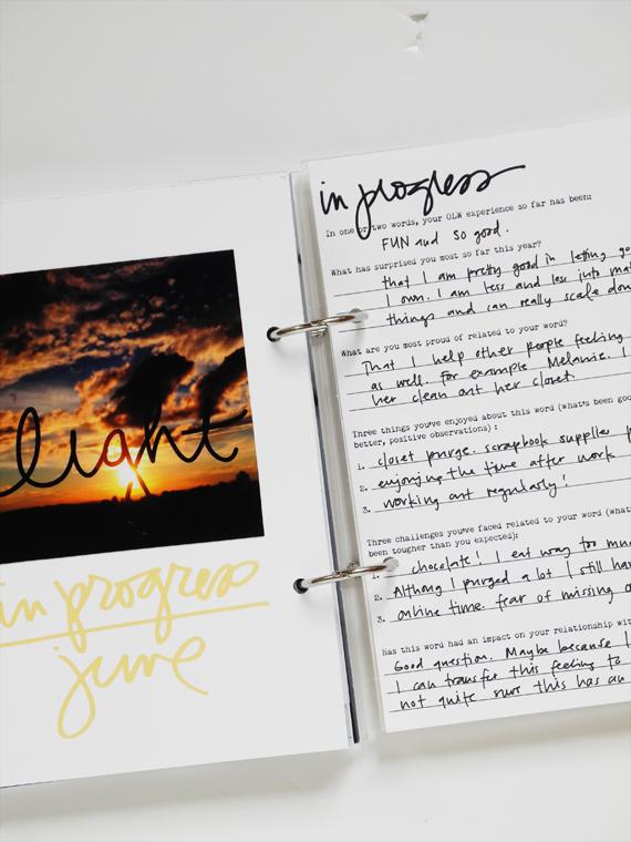 Create Share Love   One Little Word 2016 LIGHT