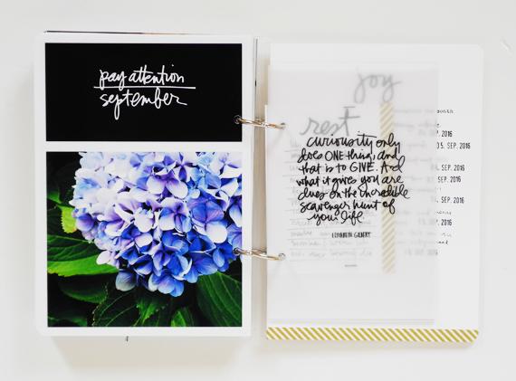 Create Share Love | One Little Word 2016 LIGHT September_1