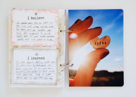 Create Share Love | One Little Word® 2016 LIGHT November 2