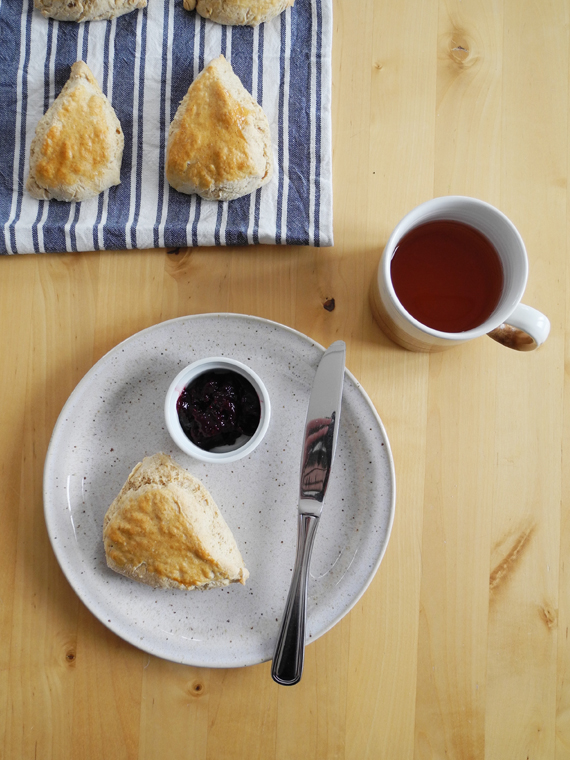 Create Share Love | Buttermilk Scones #ayearbetweenfriends