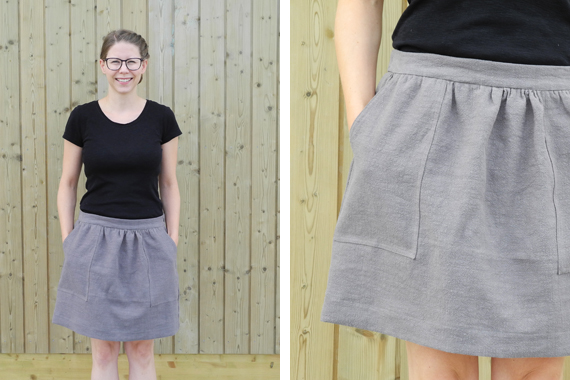 Create Share Love | Summer of Basics 2017 Basics Pocket Skirt
