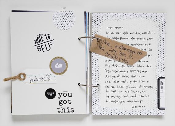 Create Share Love | One Little Word® 2017 Balance November1