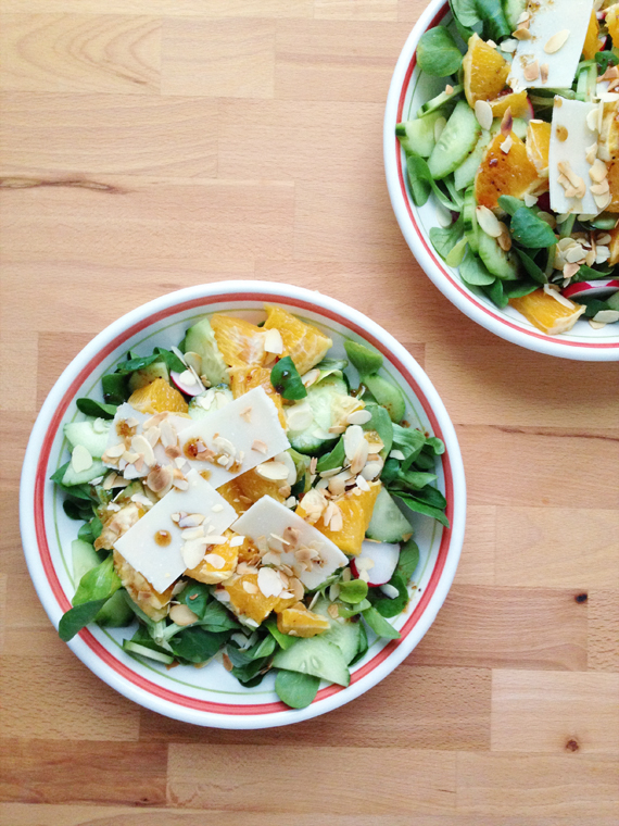 Create Share Love | Add Oranges to your Salad