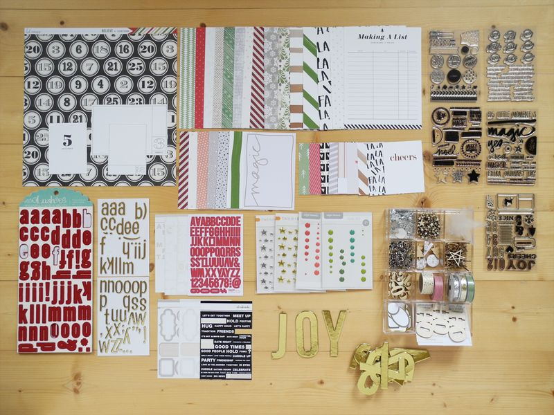 Create Share Love | December Daily Kit from my Stash 2