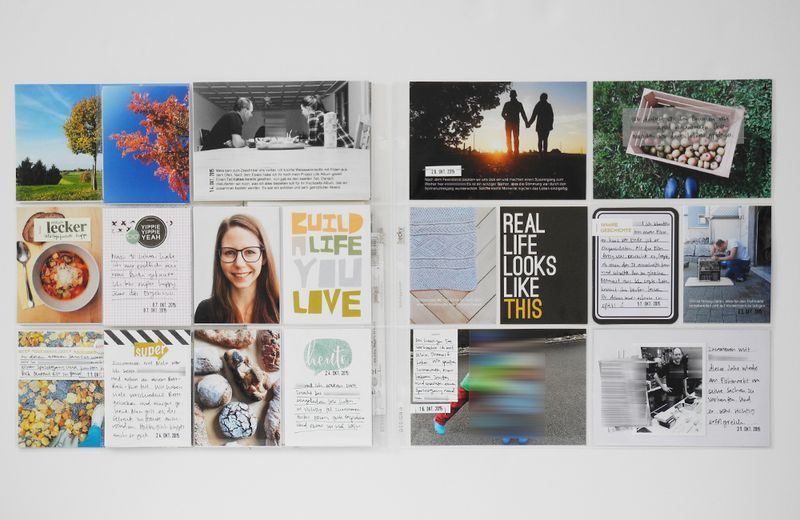 Create Share Love | ProjectLife 2015 October 4