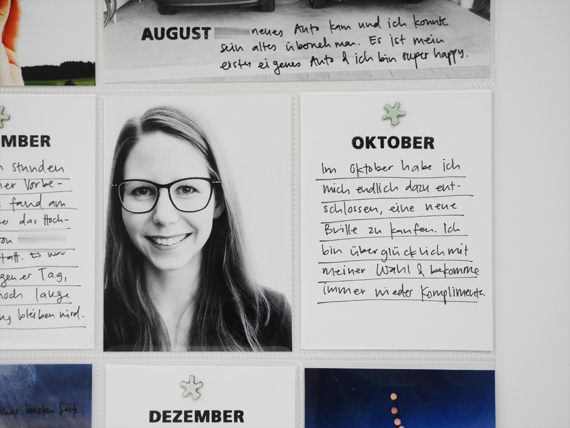Create Share Love | Papierprojekt Moment Stempel Best Of... Project Life Spread 7