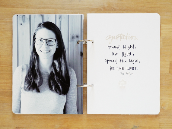 Create Share Love | One Little Word 2016 LIGHT January 2