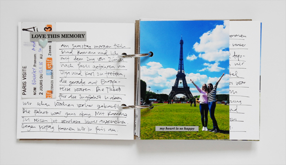 Create Share Love | Minialbum Paris 3