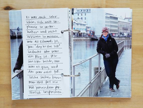 Create Share Love | PAPIERPROJEKT Moment-Stempel Minialbum Zurich 13