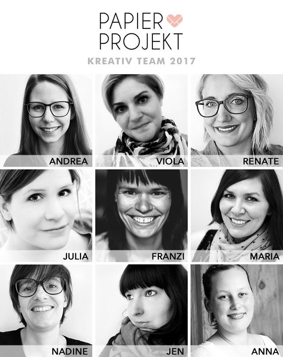 PAPIERPROJEKT Kreativ Team 2017