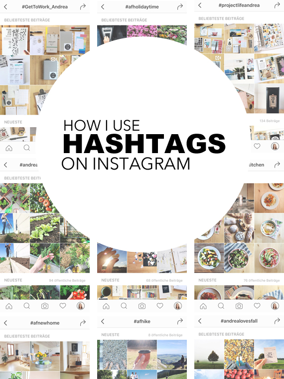 Create Share Love | HOW I USE HASHTAGS ON INSTAGRAM