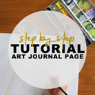 How to: Art Journal Page